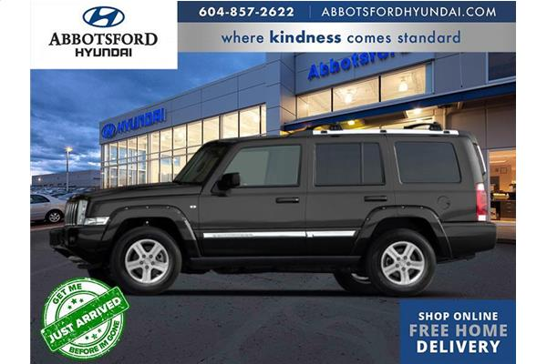 2010 Jeep Commander Sport